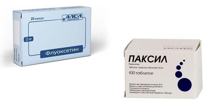Флуоксетин и Паксил
