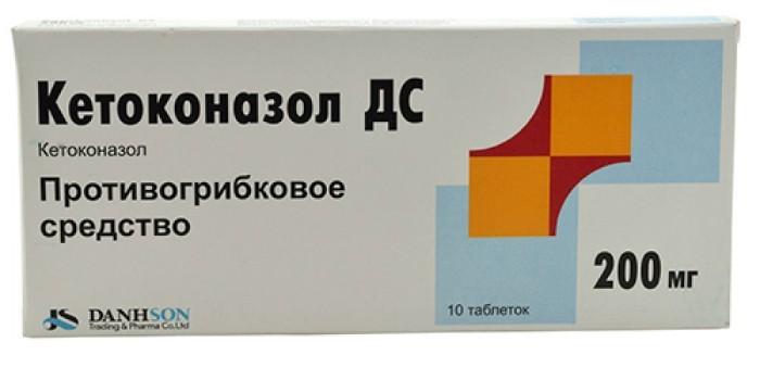 Кетоконазол в таблетках