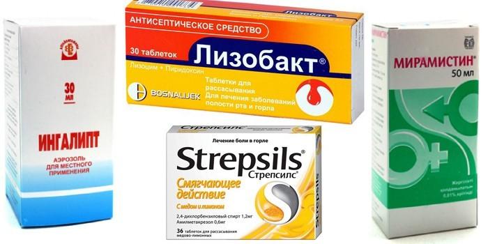 Лекарства от фарингита у детей