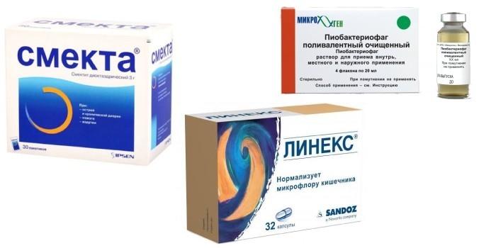 Препараты от дизентерии