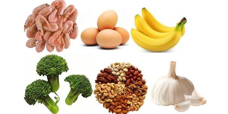 Рекомендованные продукты питания