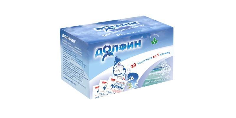 Долфин для промывания носа для детей. Инструкция
