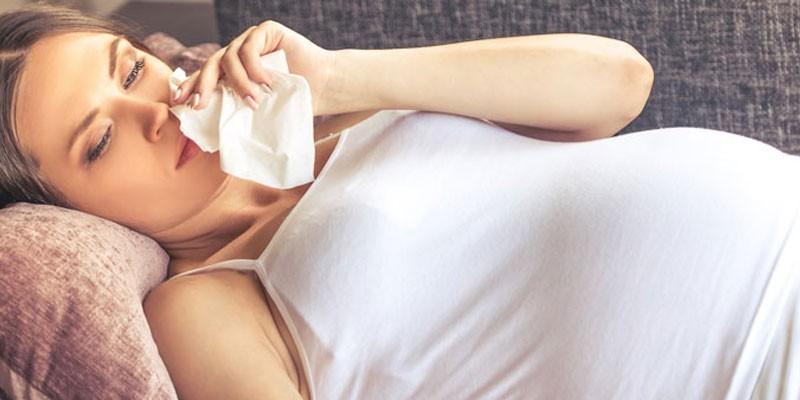 Носовое кровотечение при беременности