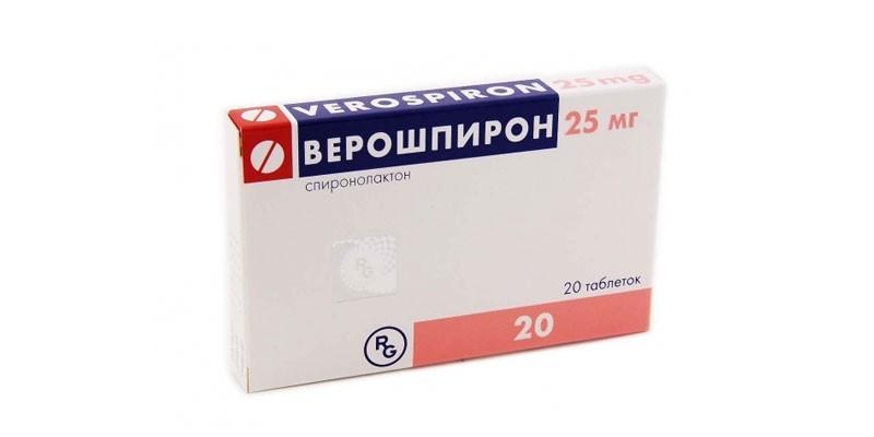 Таблетки Верошпирон