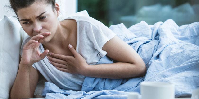 Болит грудная клетка и спина при кашле
