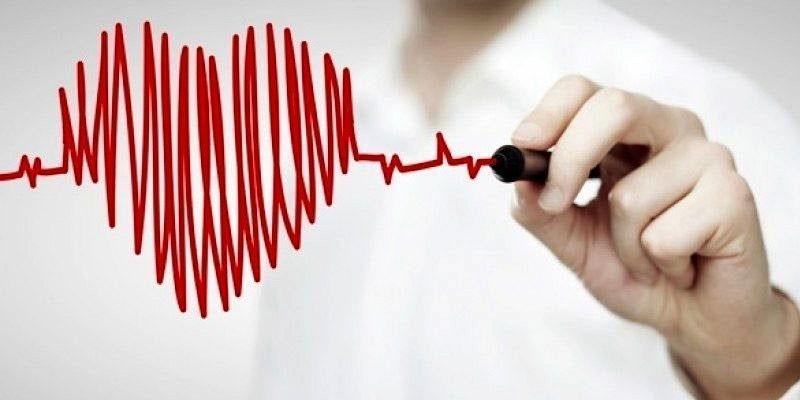 Сердце, нарисованное маркером