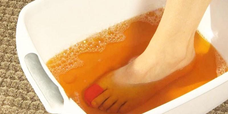 Йодовая ванночка для ног