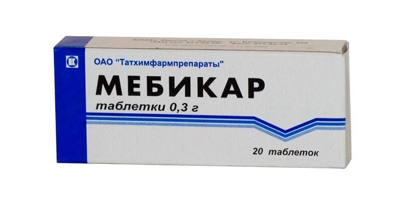 Препарат Мебикар