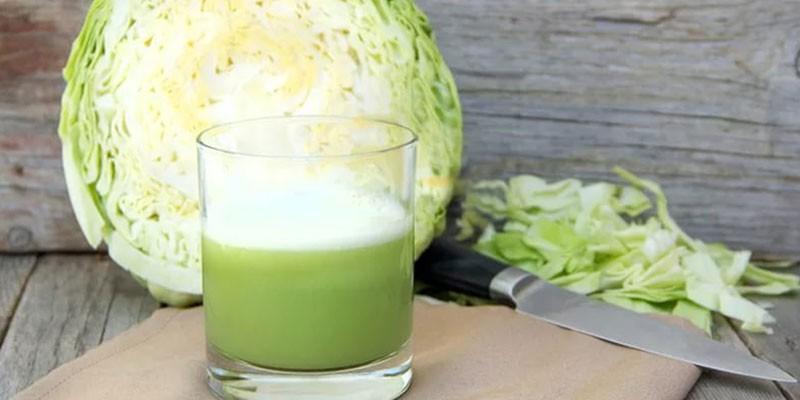 Капустный сок и капуста