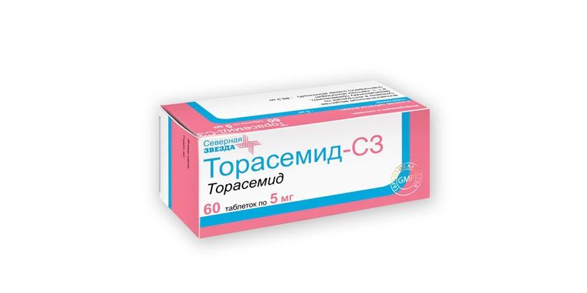 Мочегонные препараты при отеках ног