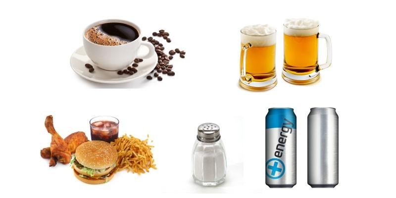Вредные продукты для эрекции