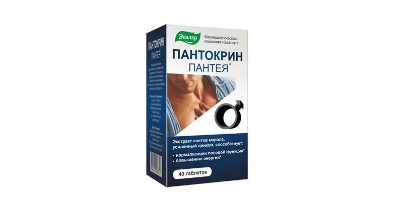 Таблетки Пантокрин Пантея