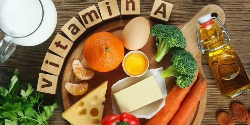Содержащие витамин А продукты питания