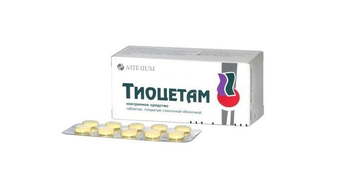 Таблетки Тиоцетам