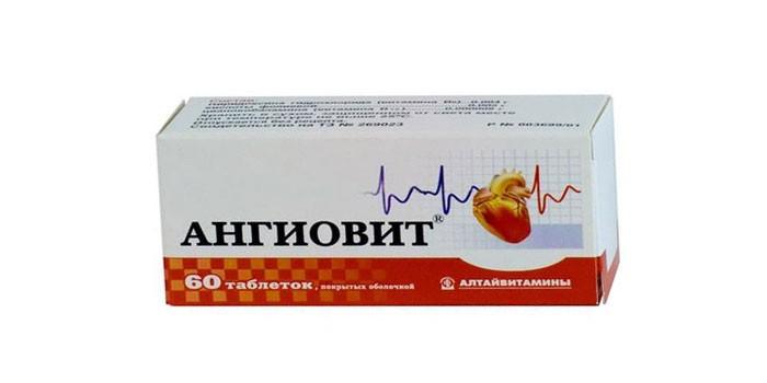 Таблетки Ангиовит