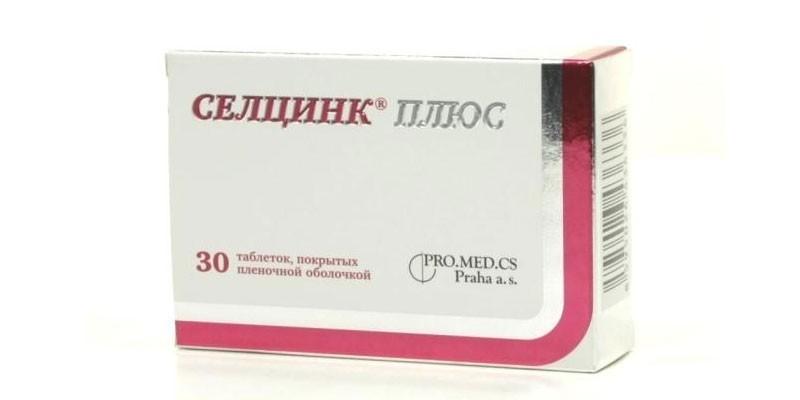 Таблетки Селцинк Плюс