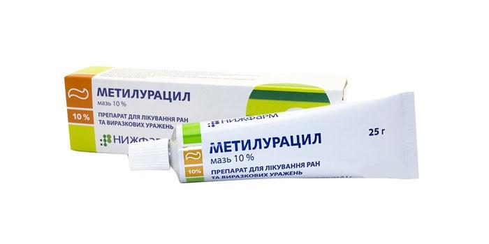 Мазь Метилурацил