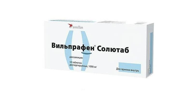 Препарат Джозамицин Солютаб