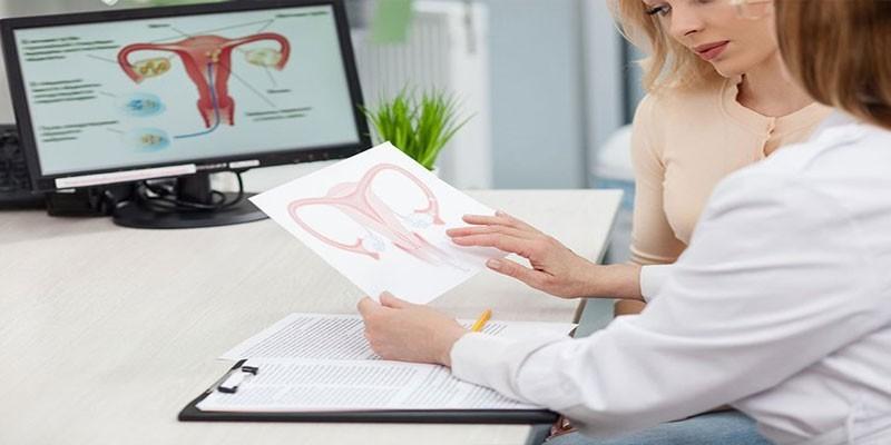 Пациентка на приеме у гинеколога