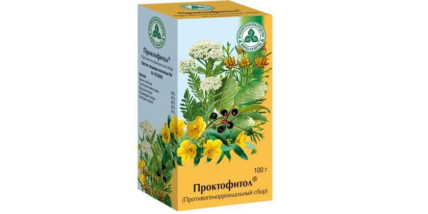 Чай Проктофитол