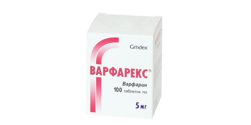 Таблетки Варфарекс