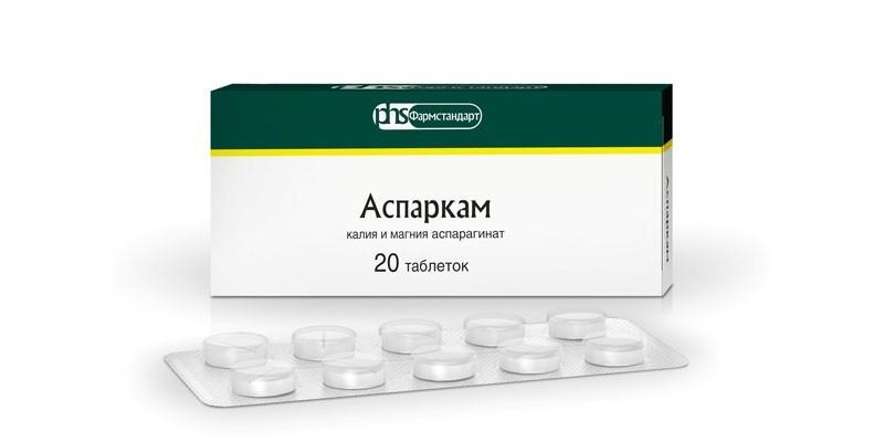 Таблетки Аспаркам