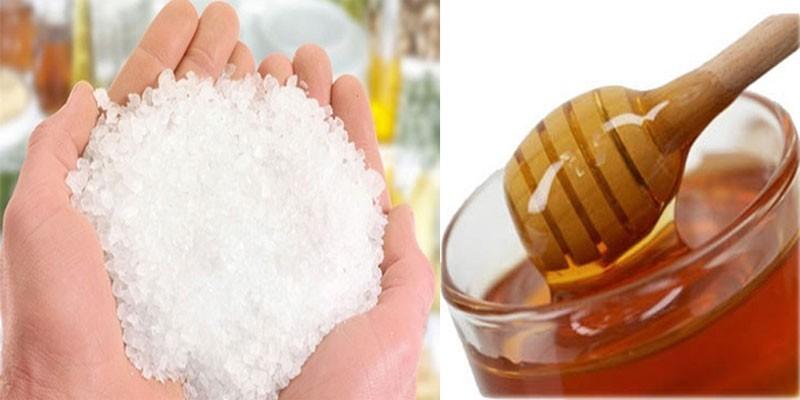 Соль в ладонях и мед