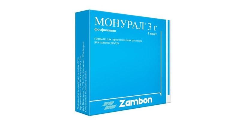 Таблетки Монурал