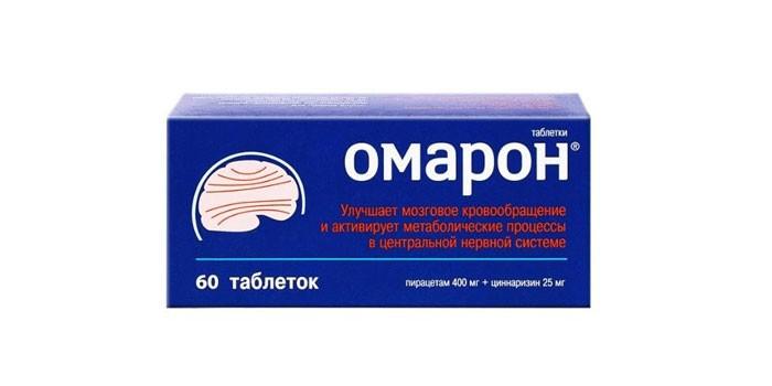 Таблетки Омарон