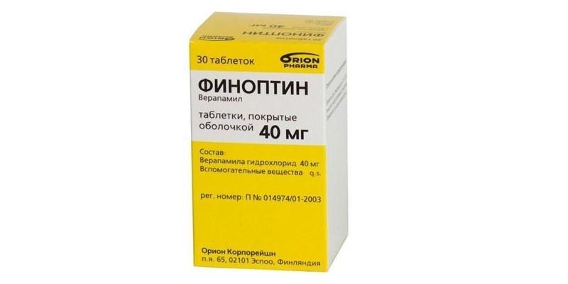 Таблетки Финоптин