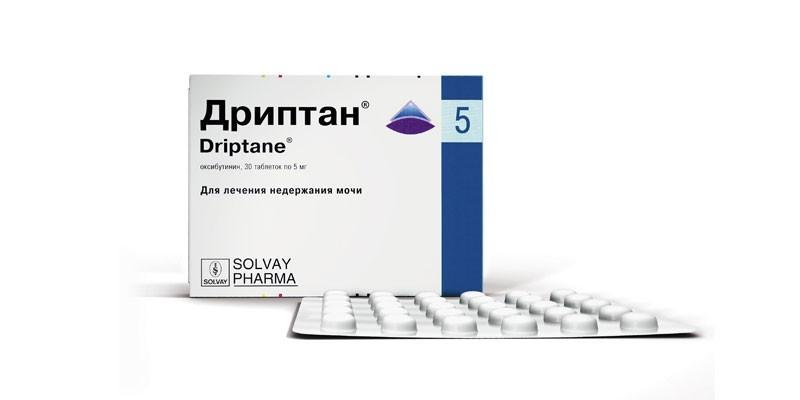 Таблетки Дриптан