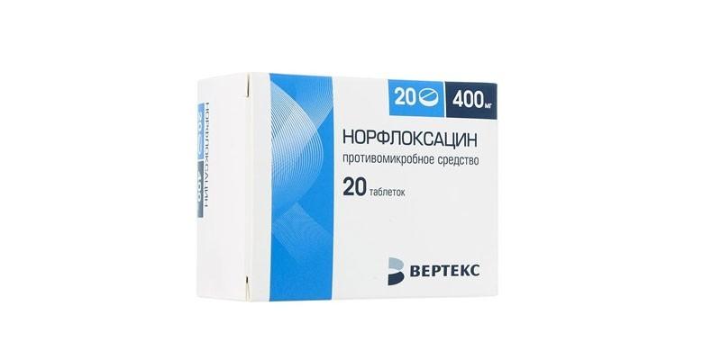 Таблетки Норфлоксацин