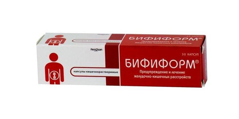 Таблетки Бифиформ