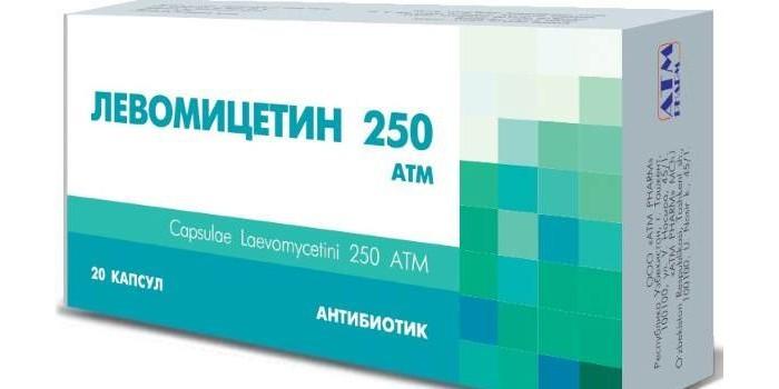 Капсулы Левомицетин