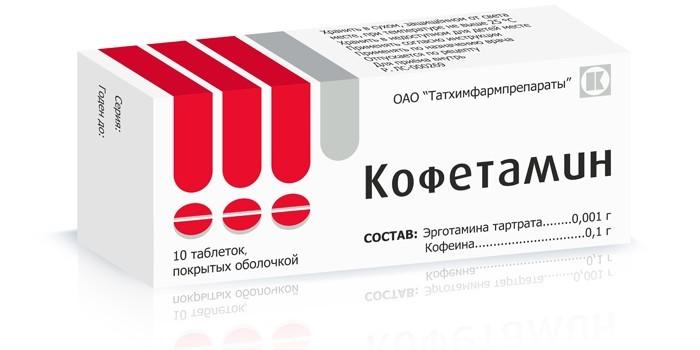 Препарат Кофетамин