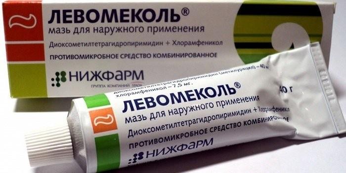 Мазь Левомиколь