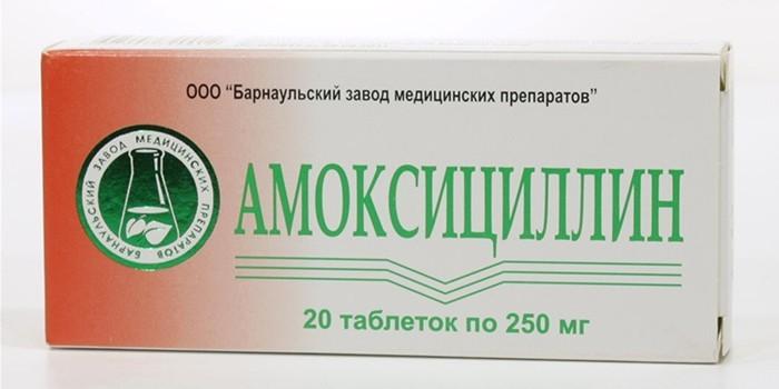 Таблетки Амоксициклин