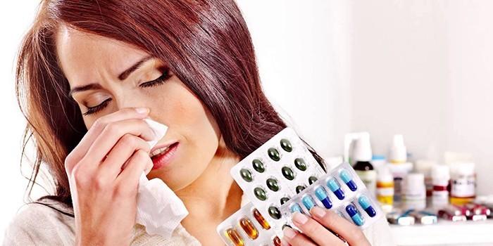 Аллергия на лекарства симптомы, причины, как лечить