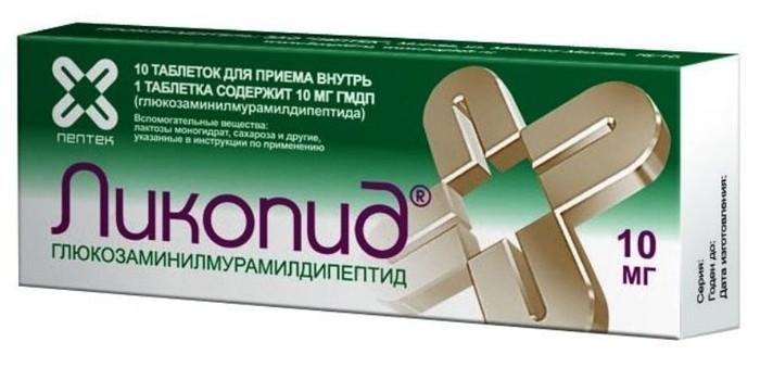 Таблетки Ликопид
