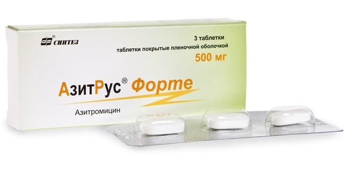 Антибиотик АзитРус Форте