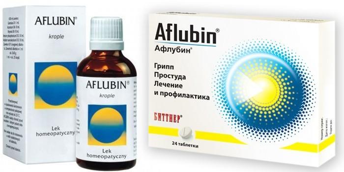 Формы выпуска Афлубина