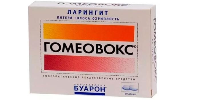 Гомеопатическое средство Гомеовокс