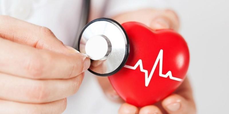 Искусственное сердце и фонендоскоп