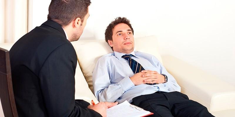 Сеанс с психологом