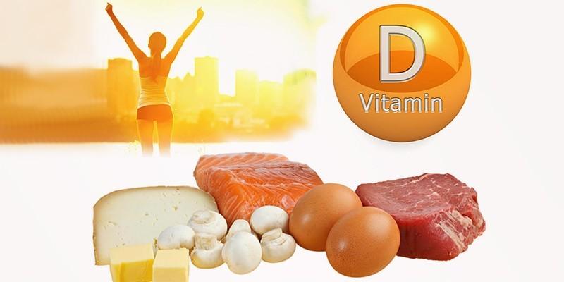 Продукты питания богатые витамином Д