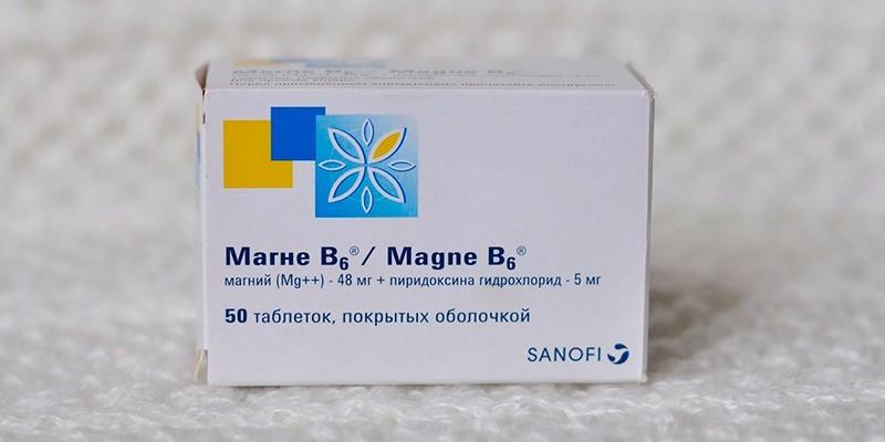 Витамины Магне B6