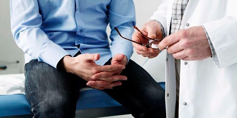 Пациент консультируется с врачом