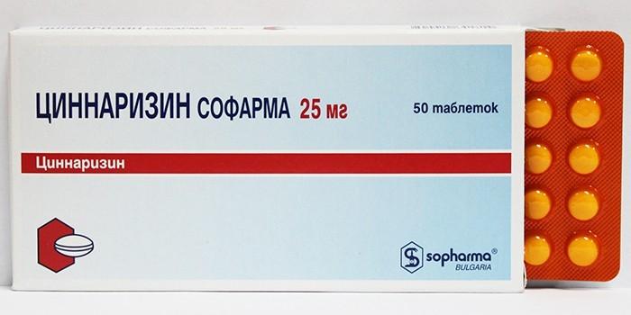 Препарат Циннаризин