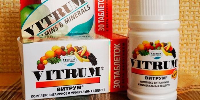 Витаминный комплекс Витрум