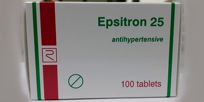 Гипотензивное средство Эпситрон